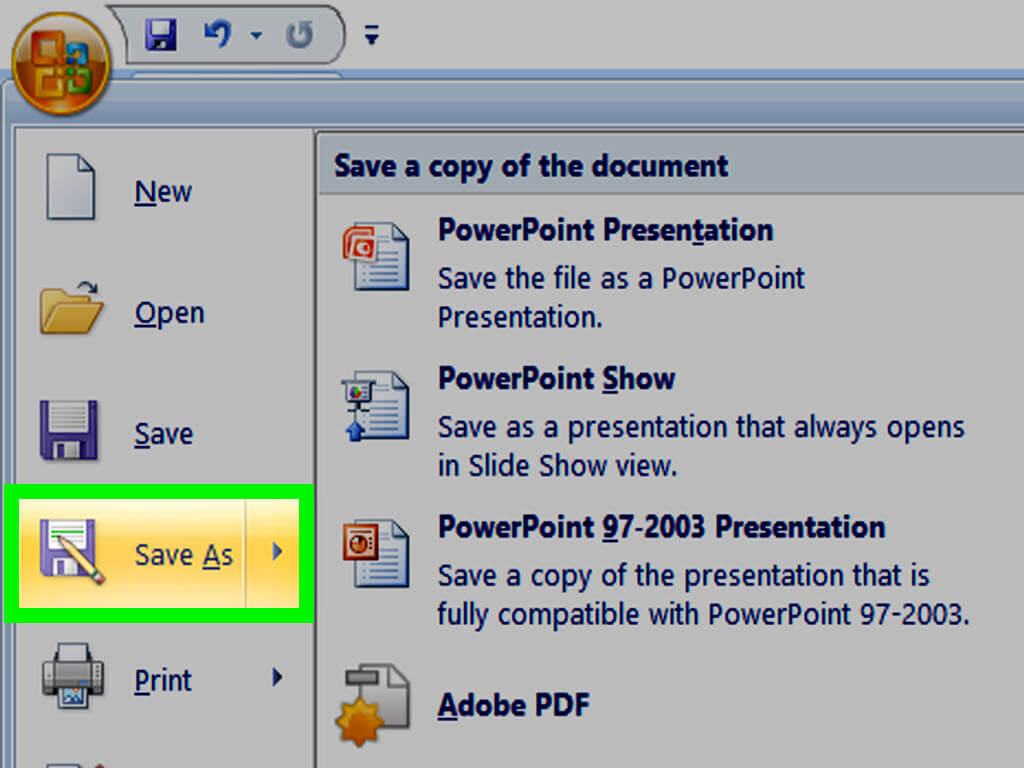 How To Make A Powerpoint Template: 12 Steps (With Pictures) throughout Save Powerpoint Template As Theme