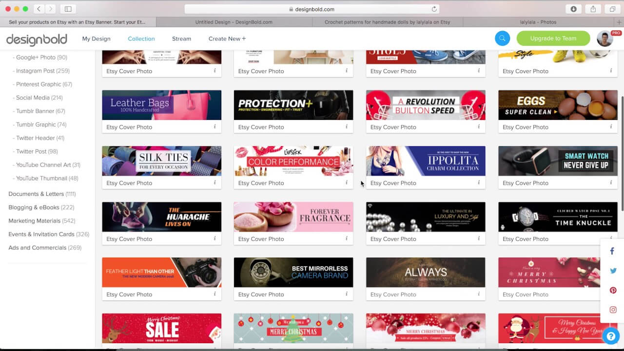 How To Make An Etsy Banner? with regard to Free Etsy Banner Template
