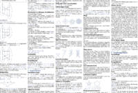 How To Make Cheat Sheets In Latex? – Stack Overflow Within Cheat Sheet Template Word