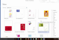 How To Make Greeting Cards With Microsoft Word inside Foldable Card Template Word