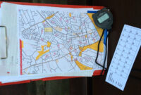 How To Plan A Street-O Event | Claro Orienteering pertaining to Orienteering Control Card Template