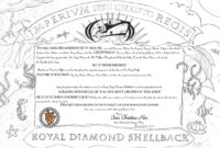 How To Turn Slimy Polliwogs Into Trusty Shellbacks   Jay On in Crossing The Line Certificate Template