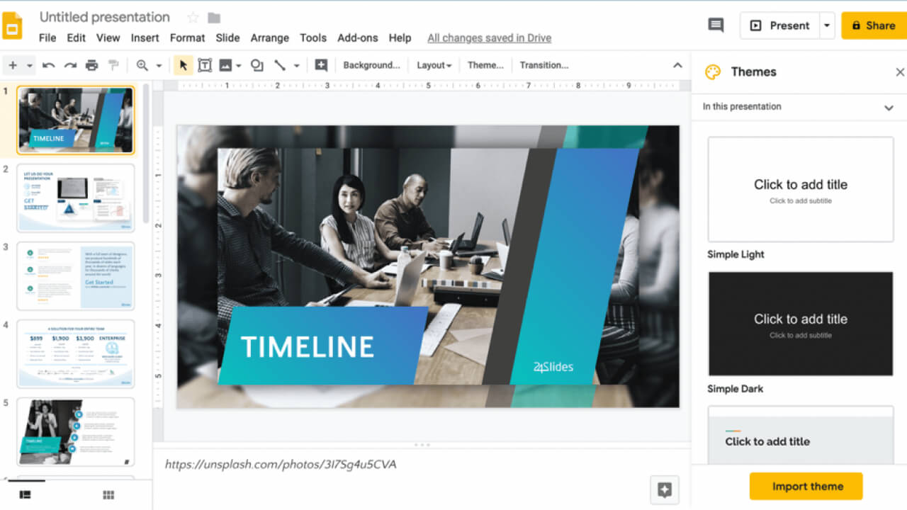 How To Use Powerpoint Templates In Apple Keynote And Google within Save Powerpoint Template As Theme