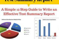 How To Write An Effective Test Summary Report [Download throughout Test Closure Report Template