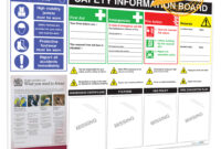H&s Information Board inside Health And Safety Board Report Template