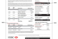 Hsbc Credit Cards | Hsbc In Singapore within Credit Card Statement Template