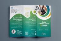 Hypnosis Professional Tri-Fold Brochure Template 001203 inside 3 Fold Brochure Template Psd