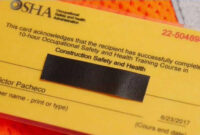 I-Team: Fake Osha Cards Put Construction Workers At Risk for Osha 10 Card Template