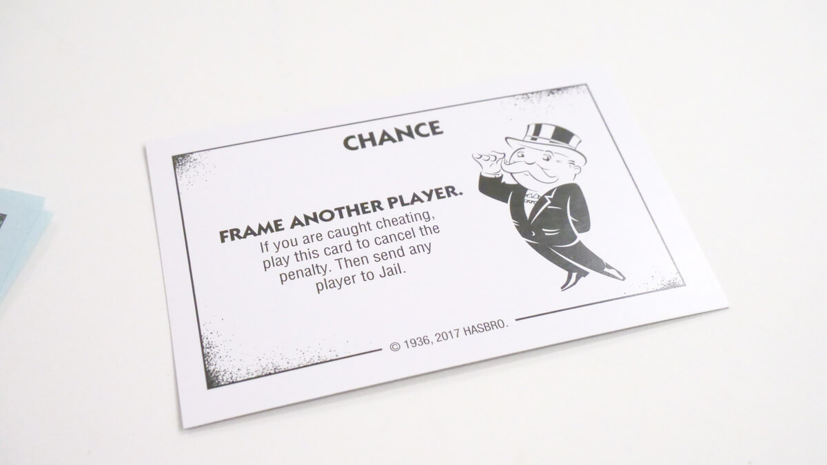 I Tried Playing A Monopoly 'monopoly Game: Cheaters Edition inside Chance Card Template