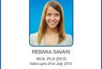 Id Card Designs | Identity Card Design, Id Card Template inside Teacher Id Card Template