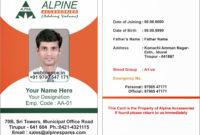 Id Card Formats – Major.magdalene-Project with Free Id Card Template Word