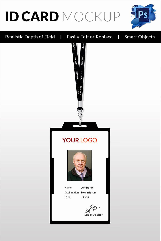 Id Card Template Word Beautiful 30 Blank Id Card Templates with regard to Employee Card Template Word