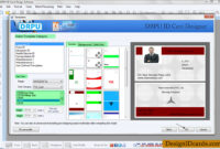 Id Cards Maker Software – Design Identity Cards For Staff Or within Faculty Id Card Template