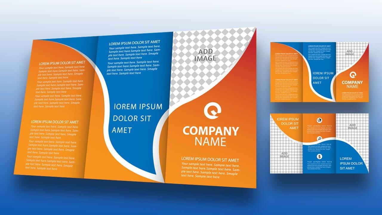 Illustrator Tutorial - Tri Fold Brochure Design in Tri Fold Brochure Ai Template