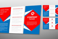 Illustrator Tutorial – Tri Fold Brochure Design Template inside Adobe Tri Fold Brochure Template