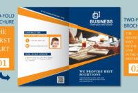 Illustrator Tutorial – Two Fold Business Brochure Template Part 01 regarding 2 Fold Brochure Template Free