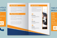 Illustrator Tutorial – Two Fold Business Brochure Template Part 02 regarding 2 Fold Brochure Template Free