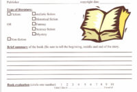 Image Result For 6Th Grade Book Report Format | Get for Ar Report Template