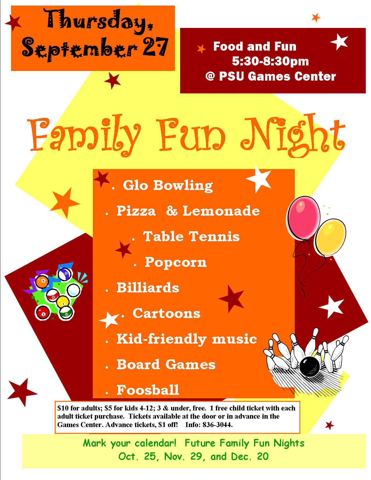 Image Result For Family Math Night Flyer Template | Flyer Within Quarter Sheet Flyer Template Word