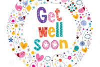 Image Result For Get Well Soon Card   My Space   Get Well within Get Well Soon Card Template