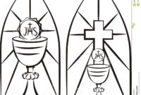 Image Result For Stain Glass First Communion Banner Template regarding Free Printable First Communion Banner Templates