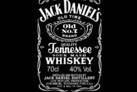 Images Of Jack Daniel S Label Template Vector Download Throughout Blank Jack Daniels Label Template