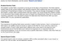 Import And Export User Guide Powerschool Student Information intended for Powerschool Reports Templates