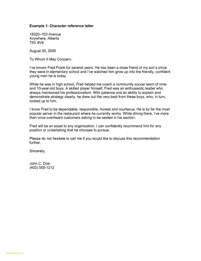 Impressive Letter Of Recommendation Templates Word Template pertaining to Business Reference Template Word