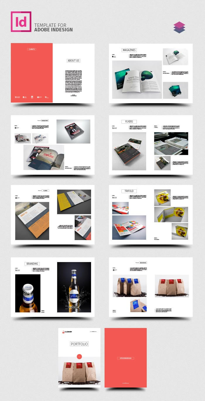 Indesign Template Free Brochure Templates A4 Tri Fold Tri with Product Brochure Template Free