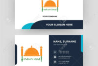 Indian Food, Business Card Design Template, Visiting For Your.. pertaining to Food Business Cards Templates Free