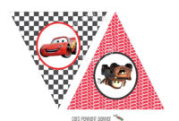 Instant Download – Printable Cars Themed Happy Birthday Pertaining To Cars Birthday Banner Template