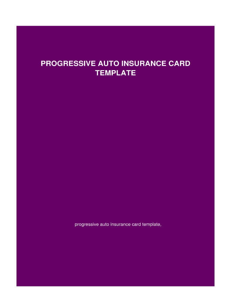 Insurance Card Template - Fill Online, Printable, Fillable in Auto Insurance Id Card Template
