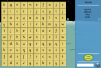 Interactive Word Search – Make Your Own Template – Literacy for Word Sleuth Template