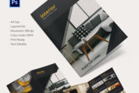 "Interior Design Brochure €"" 20+ Free Psd, Eps, Indesign inside Brochure Templates Free Download Indesign"