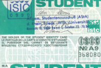 International Student Identity Card – Wikiwand pertaining to Isic Card Template