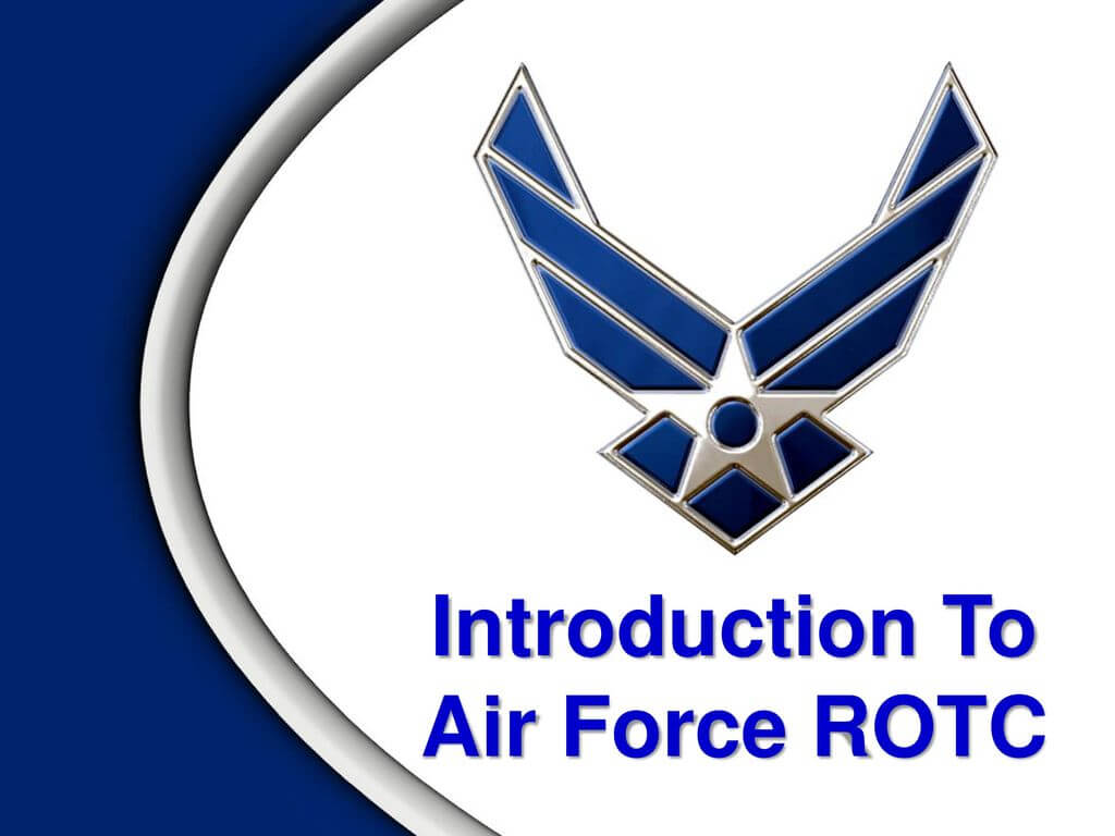 Introduction To Air Force Rotc - Ppt Download intended for Air Force Powerpoint Template