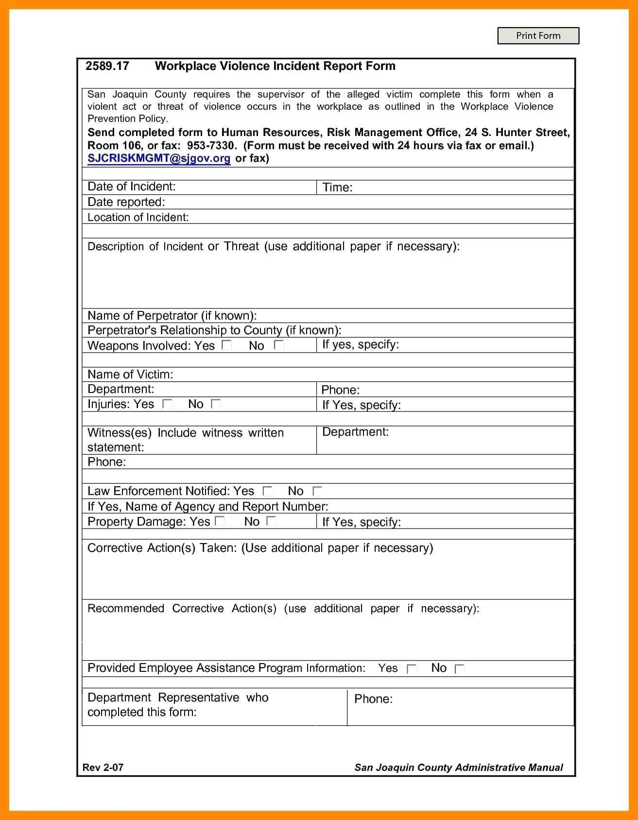 Investigation Report Template – Miadesigner for Hr Investigation Report Template