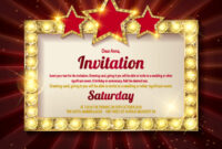 Invitation Card Template Banners with Event Invitation Card Template