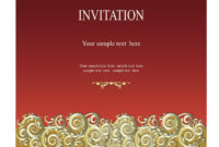 Invitation Templates That Are Perfect For Your Farewell Party for Farewell Invitation Card Template