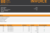 Invoices – Office With Invoice Template Word 2010 With Regard To Invoice Template Word 2010