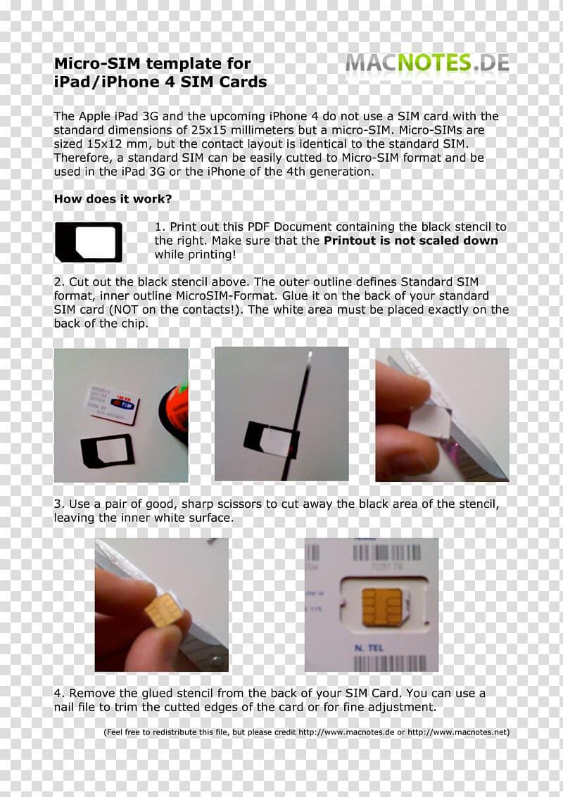Iphone 5 Iphone 4 Micro Sim Subscriber Identity Module in Sim Card Template Pdf