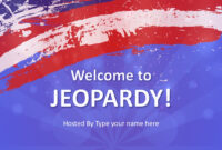 Jeopardy Game Powerpoint Templates With Quiz Show Template Powerpoint