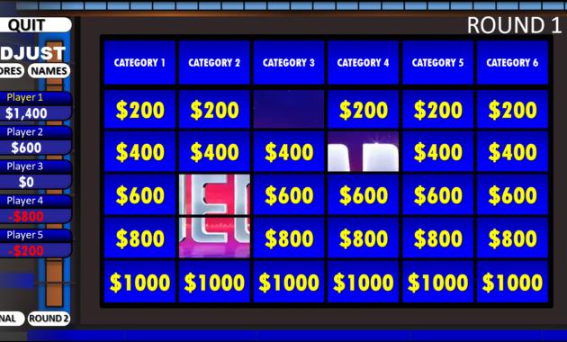 Jeopardy! | Rusnak Creative Free Powerpoint Games regarding Jeopardy Powerpoint Template With Score