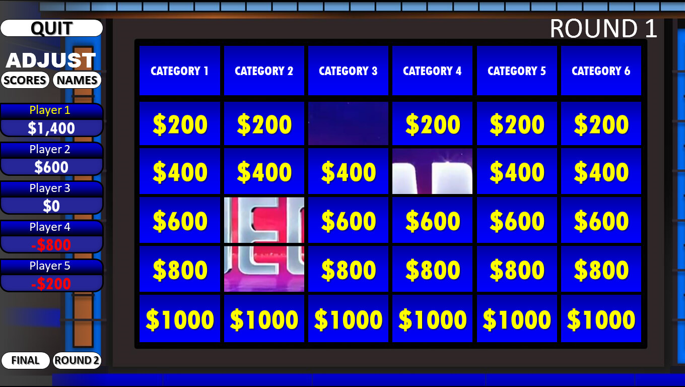 Jeopardy! | Rusnak Creative Free Powerpoint Games Regarding Jeopardy Powerpoint Template With Score