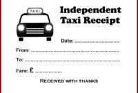 Jkl Taxi Invoice Sample – Id146588 Opendata regarding Blank Taxi Receipt Template