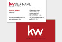 Keller Williams Business Cards for Keller Williams Business Card Templates