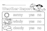 Kids Weather Report Template – Atlantaauctionco for Kids Weather Report Template