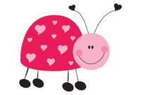 Ladybug Printable Pdf Template Stationery Set   Kim   Flickr inside Blank Ladybug Template
