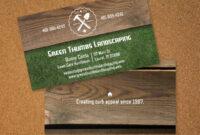Landscaping Business Card | Vistaprint | Avery Business inside Gardening Business Cards Templates