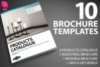 Last Day: 10 Professional Indesign Brochure Templates From with Product Brochure Template Free